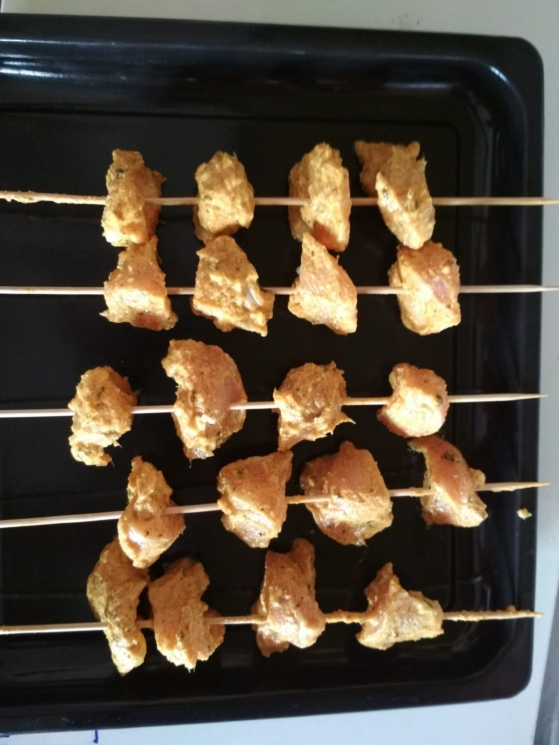 Chicken Reshmi kabab with picture