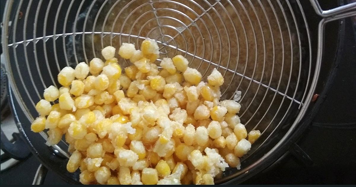 crispy sweet corn recipe